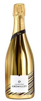 Champagne Gremillet - Editions spéciales -Red & Gold - Brut - Gold - 75 cl